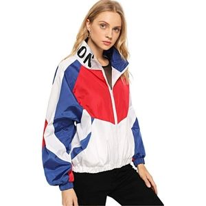 🆕️ Lightweight Patchwork Windbreaker Jacket